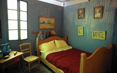 Cannes Lions Creative Effectiveness: slapen in de kamer van Van Gogh