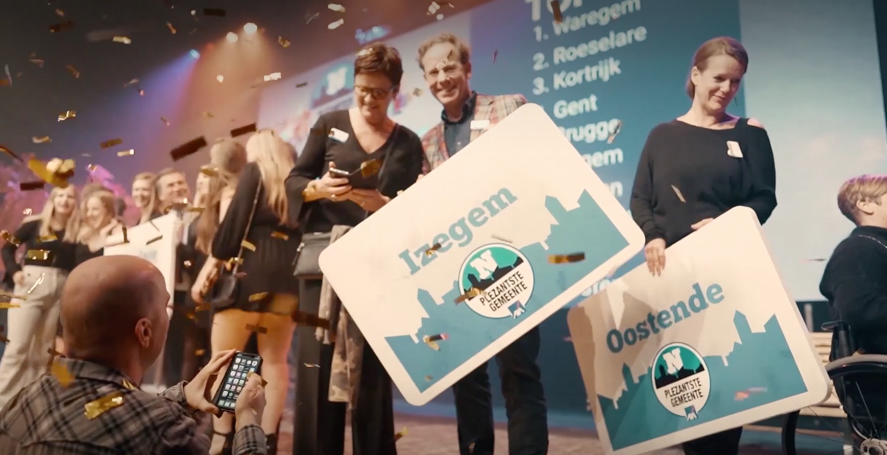 Mediahuis Advertising in finale op de Digiday Marketing Awards Europe.