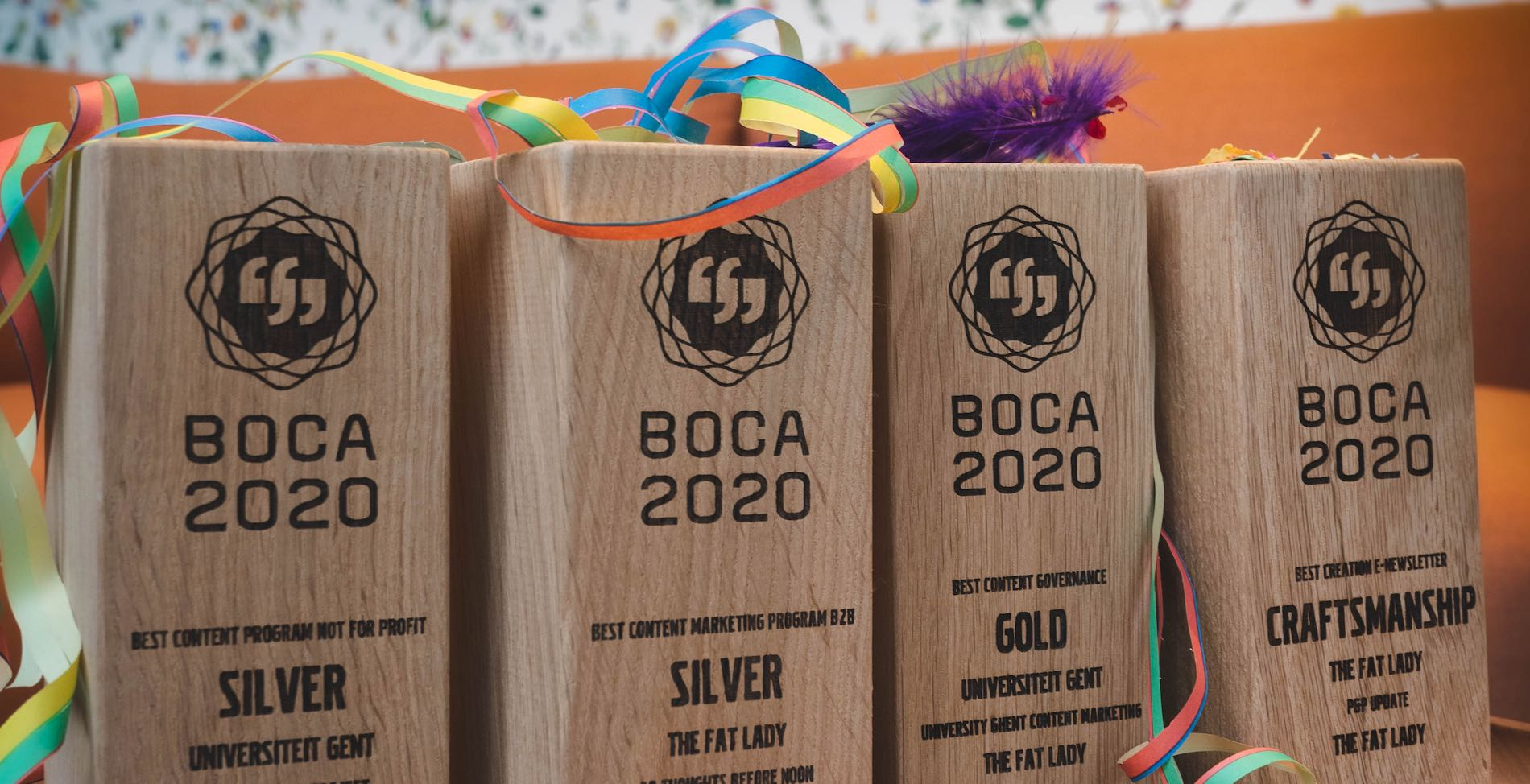 BOCA 2020 : Gold pour The Fat Lady/UGent et D-artagnan/Alpro