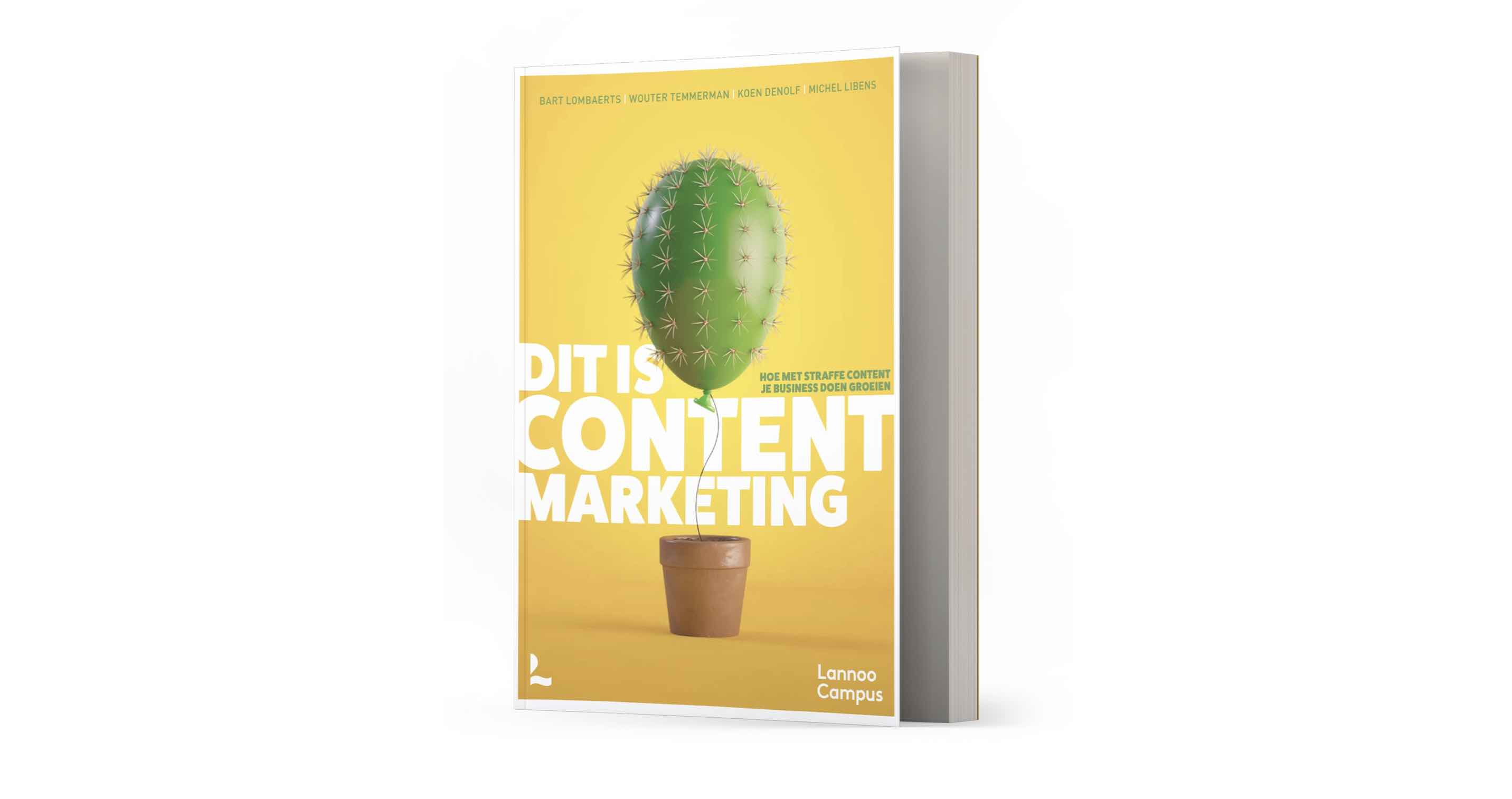 'Dit is content marketing' is Marketing Book of the Year