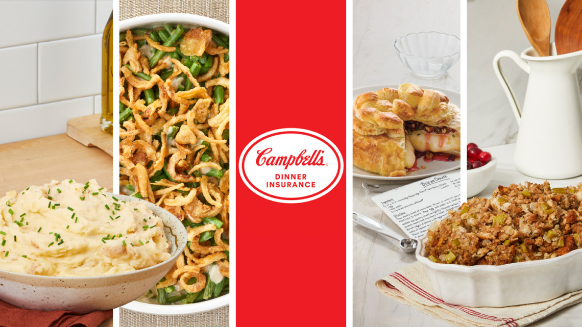 Campbell's Soup assure pour Thanksgiving (Focalys)