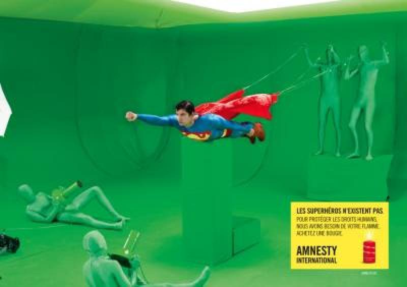 Air superrealistisch voor Amnesty