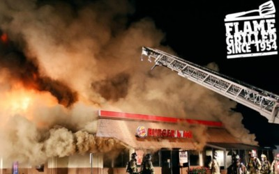 Cannes Lions Print & Publishing: Burger King in flames